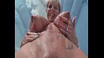 German mature lady squirts outdoor porn image