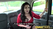 13125 Fake Taxi Huge meaty pussy lips hang over and grip big drivers dick preview