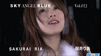 Amazing solo cam show with superb Ria Sakurai thumbnail