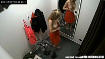VOYEUR Two security cams in changing room pornhub video