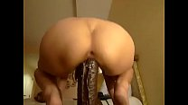 Big black cock and white ass image