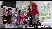 Step-Sis fucked me during family cristmas picture| FamSuck.com