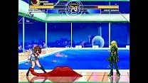 Kula Diamond & Kuromaru (Loli) vs. Haruhi Suzumiya