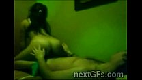 Brunette hottie with beautiful booty rides her bf in homemade0-2 Thumbnail