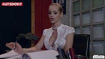 LETSDOEIT - Married WIFE Fucks Her Boy Toy In Her Office At Work Vorschaubild