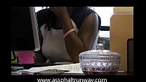 candid boss Mrs Patterson's pierced nipples preview image