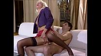 Beautiful High-Heels Blonde in Lingerie gets Big Cock up the Ass, Helen Duval Vorschaubild