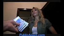 PublicAgent Sophia Fucks me for Money