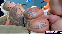(Bella Bellz) Big Round Oiled Ass Girl Love Hard Anal Intercorse video-10
