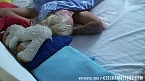 Tight horny blond chick gets morning surprise thumbnail
