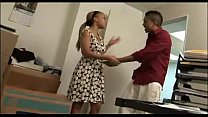 Ebony Quick Office Fuck