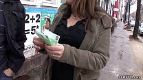 Teen auf der Strasse angesprochen und fuer Geld... Thumbnail