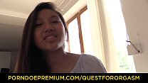 QUEST FOR ORGASM - Asian teen beauty May Thai in for erotic orgasm with vibrators Vorschaubild