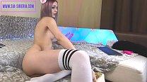 SIA SIBERIA very hot Russian Teen Cam Girl pleasures herself preview image