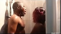 Nigerian couple fuck in shower Thumbnail