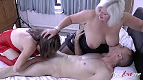 AgedLove Lacey & Pandora big boobs have fun with big dick