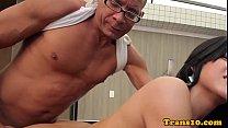 Screenshot Brazilian ts be auty takes bigcock in bunda ock in bunda