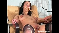 Bizarre female humiliation and messy degradation of food enslaved filthy slut thumbnail