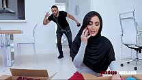 SISTER in HIJAB pledges herself to me for wrong deeds thumbnail