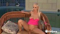 ALPHA2-Blonde slut enjoys in big cock