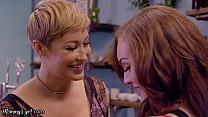 MommysGirl Hot MILF Ryan Keely Shows Her 18yo Employee How To Taste Sweets