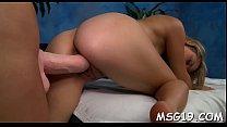 Lusty girl gets huge facial