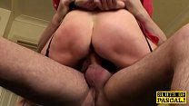 Tiedup brit sub fingerfucked before throated thumbnail