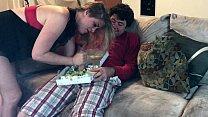 9462 Horny MILF slurps a big dick salad - Erin Electra preview
