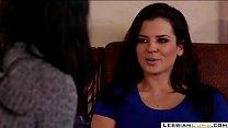 LesbianCUMS.com | Big Boobs Step Mom Missy Licking Daughter's Pussy