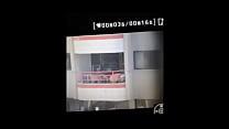 Flagra de punheta da sacada do prédio
