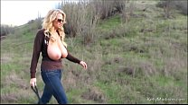 Big Titted MILF Enjoys Hiking Naked Thumbnail