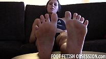 Make sure you lick between my toes