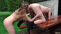 Grandpa Calls For a Young Escort and gets the best teen sex of his life thumbnail