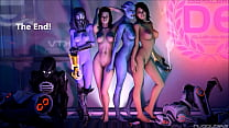 Mass Effect Girls Sexy Gifs