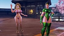Hot Cammy Street Fighter V Orchid mod