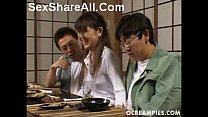 Asakawa Rei Jerks Off Her Dates Under The Dinner Table Vorschaubild