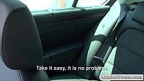 Dude fucks Russian teen in his car in public thumbnail