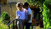 Hot outdoor sex - Kira Thorn, Renato