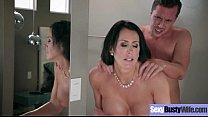 (Reagan Foxx) Naughty Horny Slut Housewife Love Intercorse On Cam clip-22