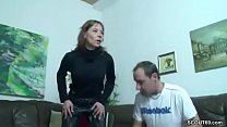 Skinny German MILF Claudi fucked by Stranger after Bike Tour Vorschaubild