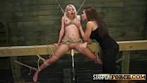 Lesbian Babes Enjoying Strapon Sex