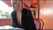 Jasmine Jolie Exposed in Public Cafe by letat 1