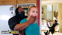 BANGBROS - Sexy PAWG AJ Applegate Fucked By Home Invader With Dad In BG - 69VClub.Com