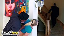 BANGBROS - Sexy PAWG AJ Applegate Fucked By Home Invader With Dad In BG
