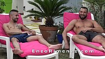 Enzo RIMENEZ Fucked Bareback By Pablo  HIERRU