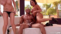 Busty Milfs Richelle Ryan & Dayton Rains Fucked Hard preview image