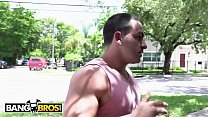 BANGBROS - Pervert Peter Green Spies On His Busty Neighbor Alesandra And It Pays Off - 9Club.Top