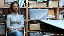 Black teen employee caught stealing from the register thumbnail