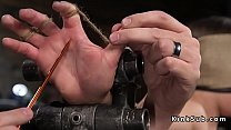 Anal hooked and  pussy toyed slave ave