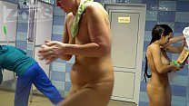 big tits voyeur shower